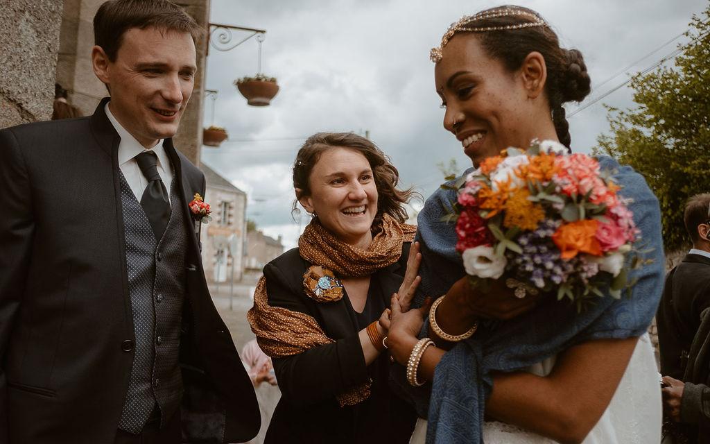 maries bouquet de fleurs bijoux boutonnieres
