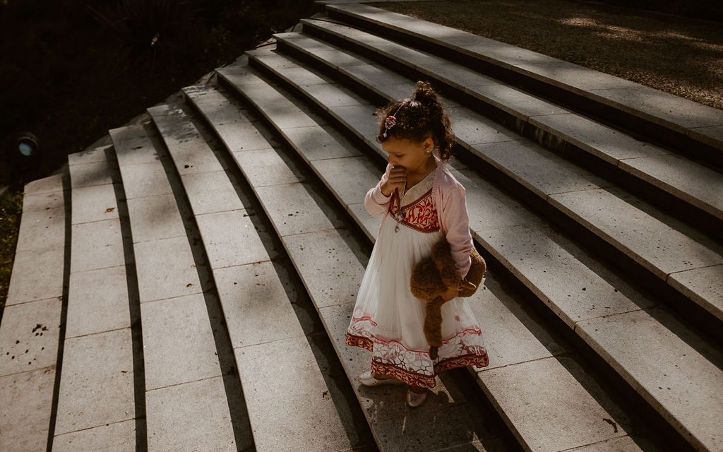 mariage enfant robe culture indienne