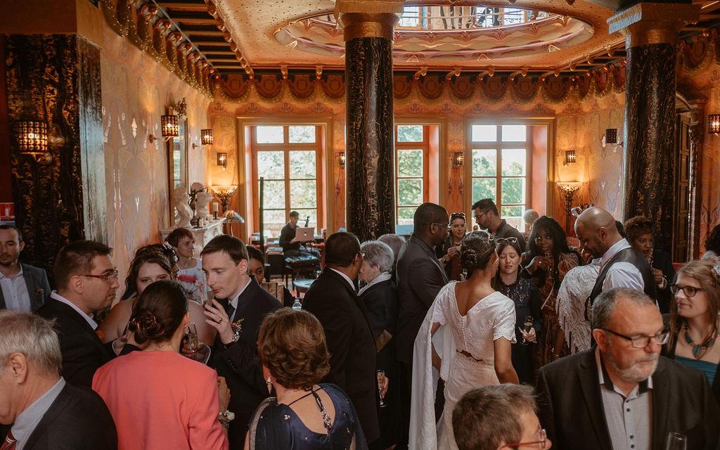 reception de mariage mariage multiculturel invites ille-et-vilaine