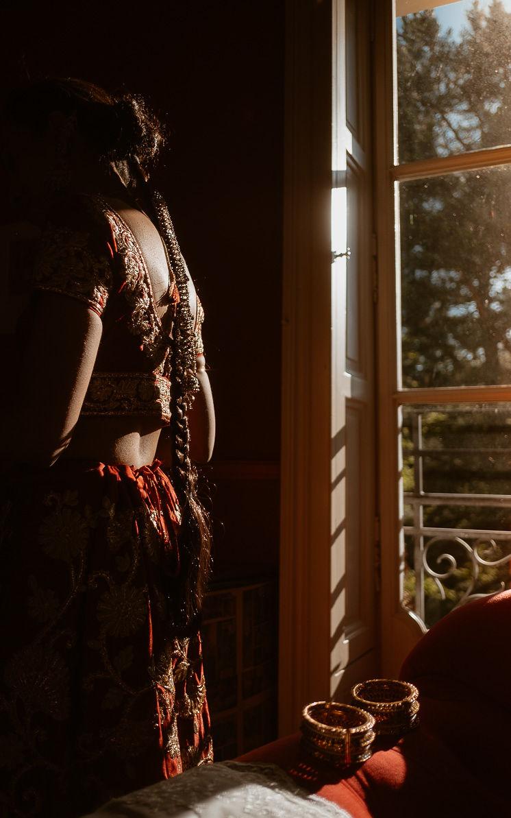 mariage franco-indien tenue indienne traditions