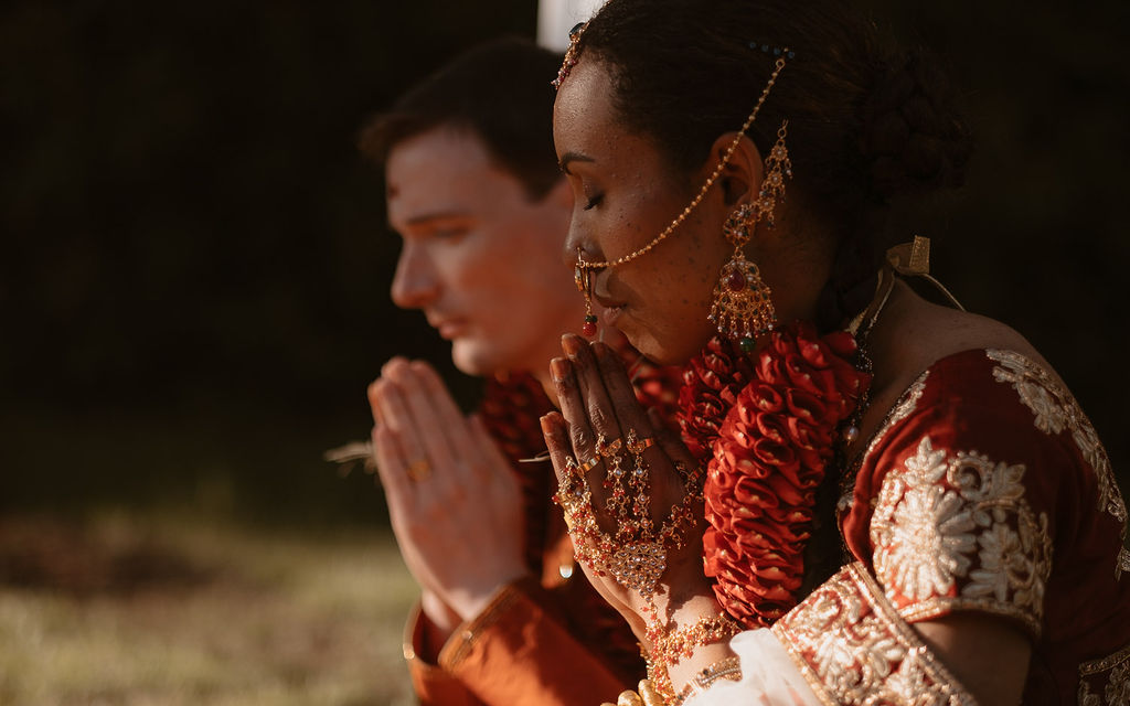 mariage franco indien rituels indiens maries
