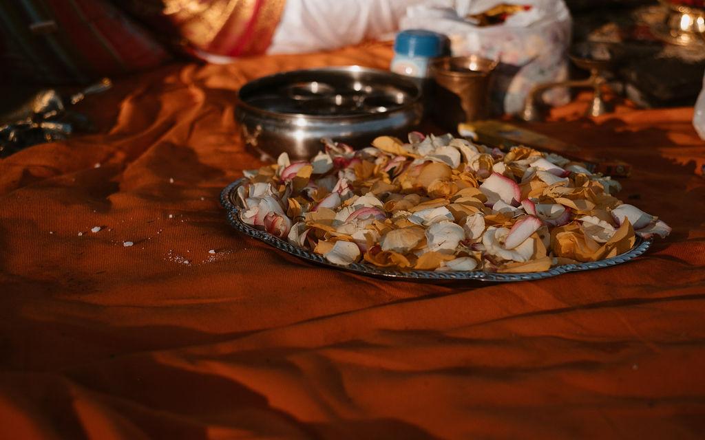 mariage bretagne nourriture indienne couleur rouge