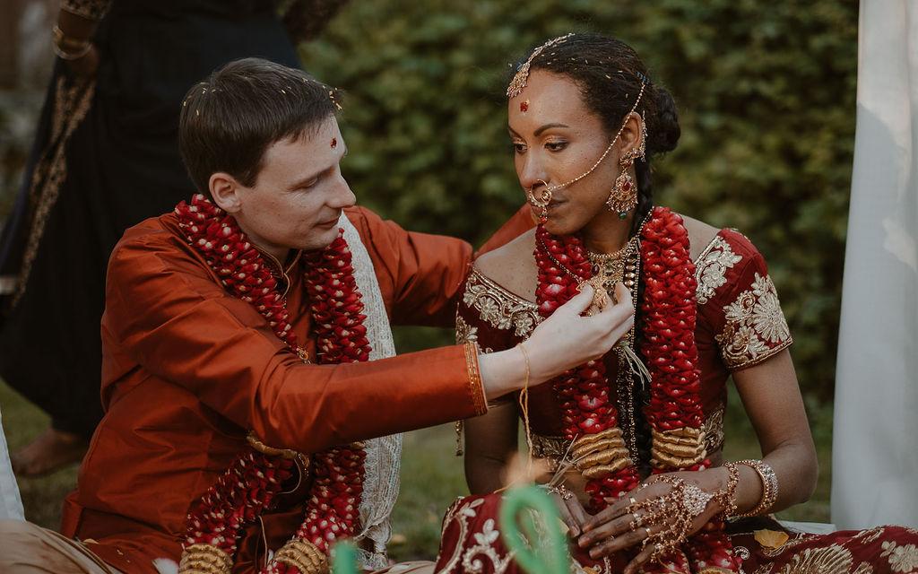 melange des cultures mariage rituels indiens