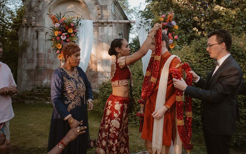 mariage franco-indien ille et vilaine tenues traditionnelles