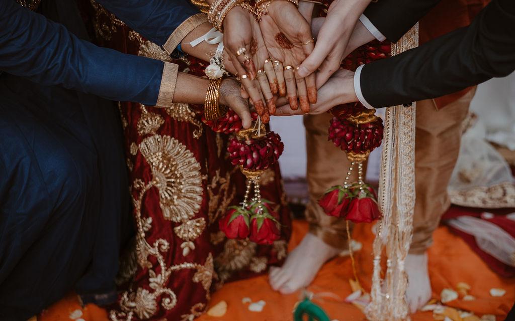 traditions inde bijoux fleurs