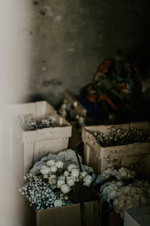preparatifs mariage fleurs bouquets