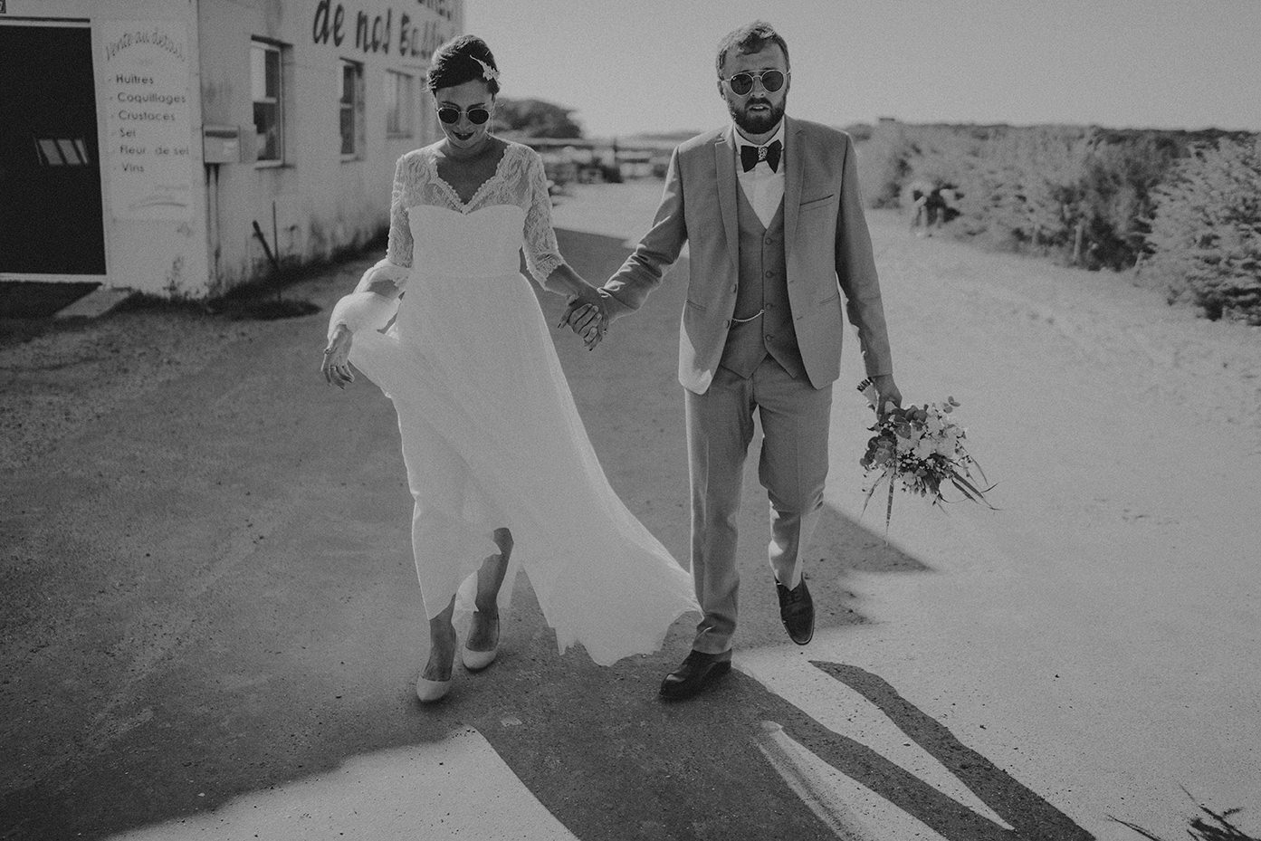 mariage plage vendee champetre chic