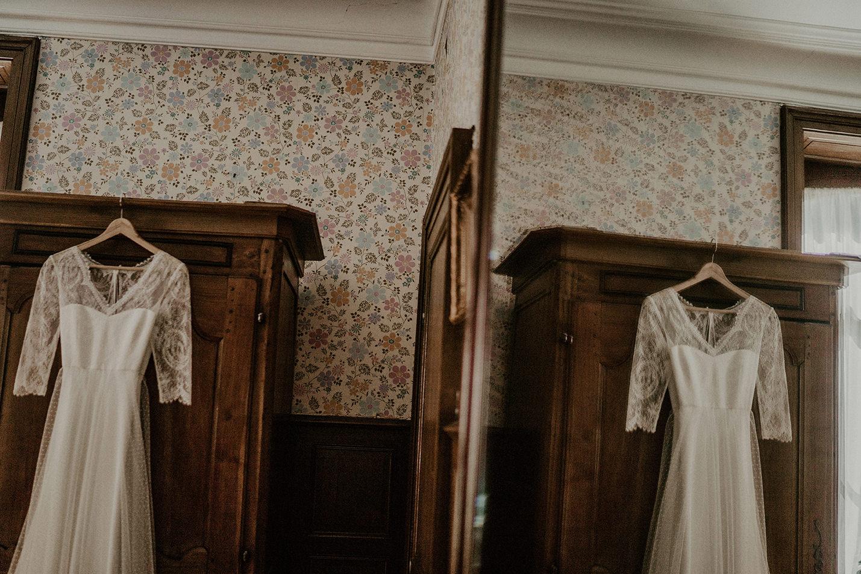 robe de mariee dentelle blanche