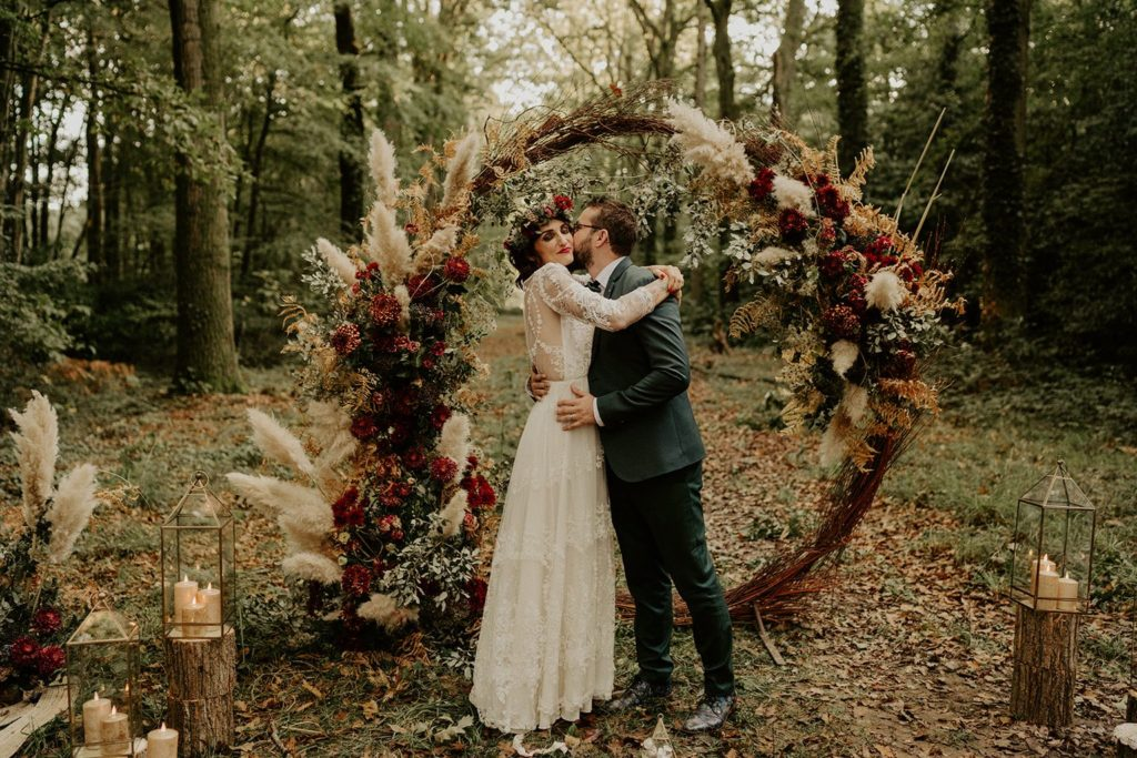 calendrier de fleurs mariage