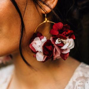 Boucles d'oreilles de mariee angers