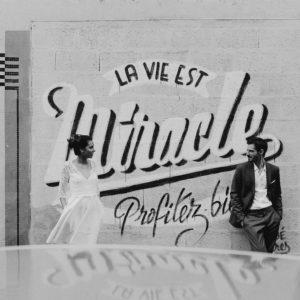 Inspiration mariage civil dans les rues nantaises