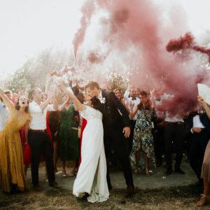 Mariage bohème au domaine La Moinardière en Vendée